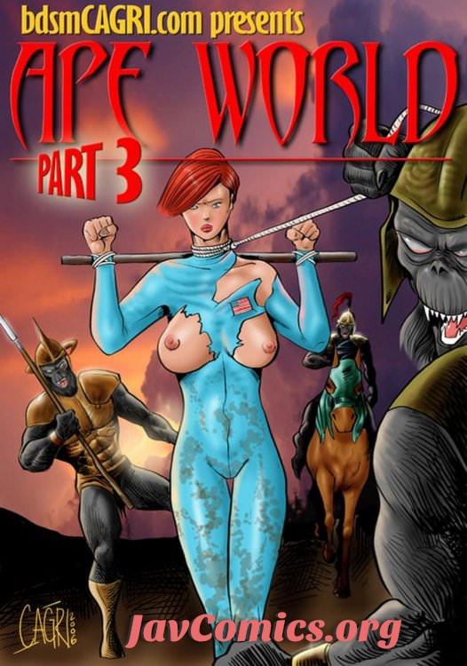 APE WORLD 3 comics by Cagri