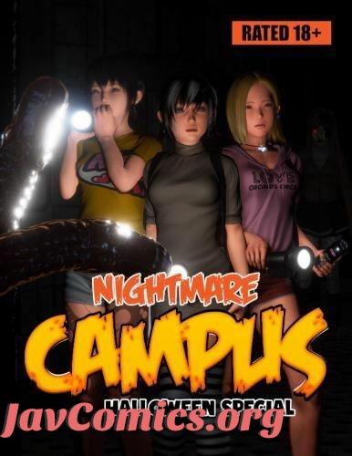 Nightmare Campus Halloween Special by Gundam toby07