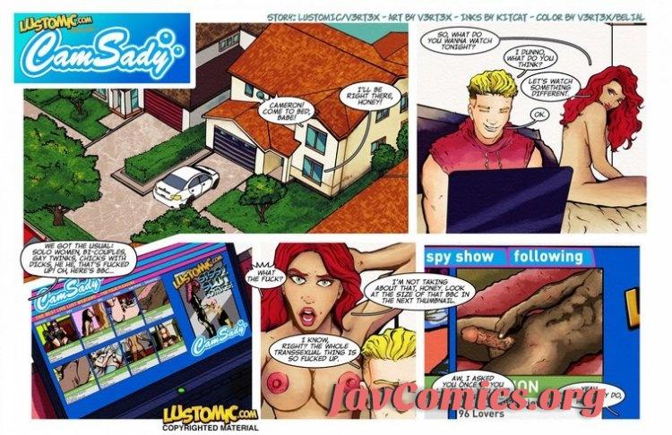 CamSady - Lustomic Comic En