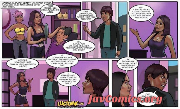 Miss Market Street - Lustomic Comic En