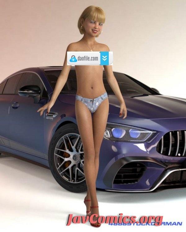 4888StockCarMan 3D Artwork Premium Photo Collection Vol. 17