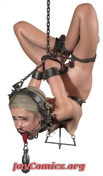 A.B. Dearheart – The Contortionist BDSM Porno 3D Art