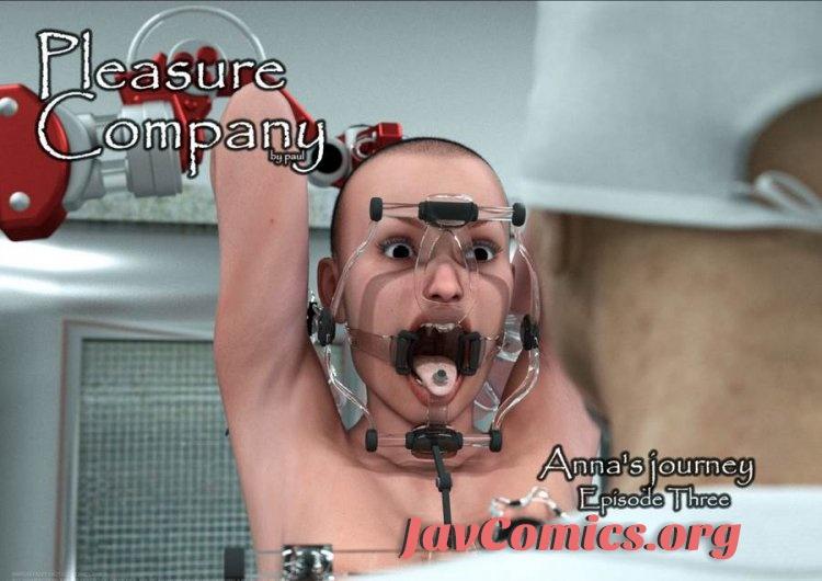 3DFetish - Pleasure Company - Anna journey - Episode 3-5 (German)
