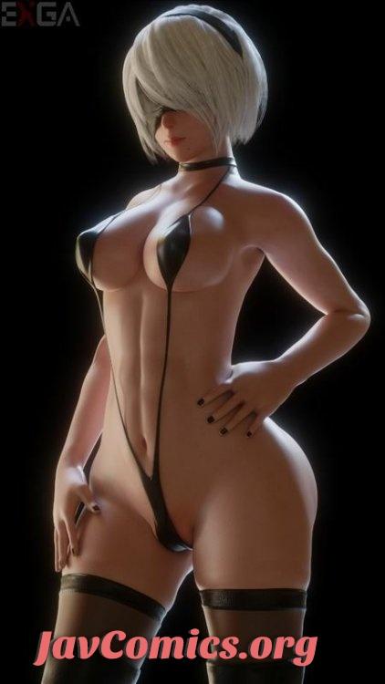 [Pixiv] 3D Hentai - Exga