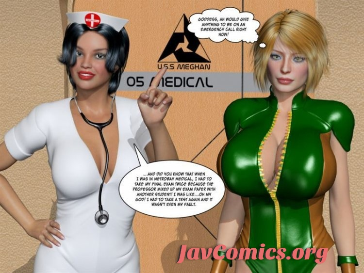 MetrobayComix 3D – Nano Crisis – Matriarch's Uprising 7