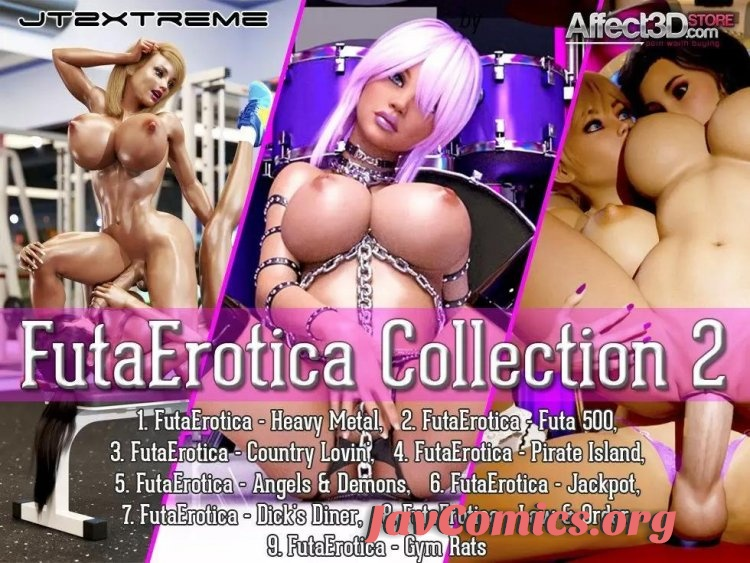 FutaErotica Collection 2JT2XTREME 9-HD video