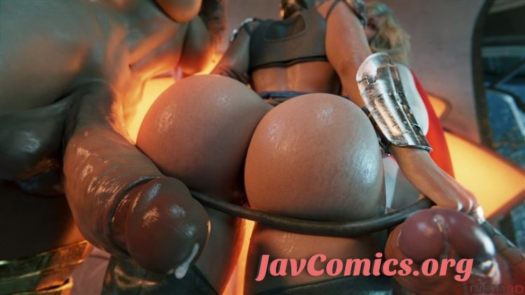 Rigid3D Futanari – Gotham Threesome